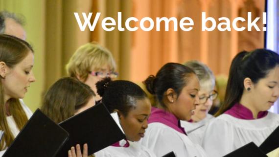 Welcome back choir Twit (1)