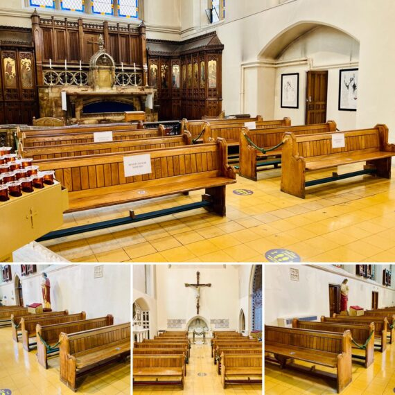 Cathedral-benches